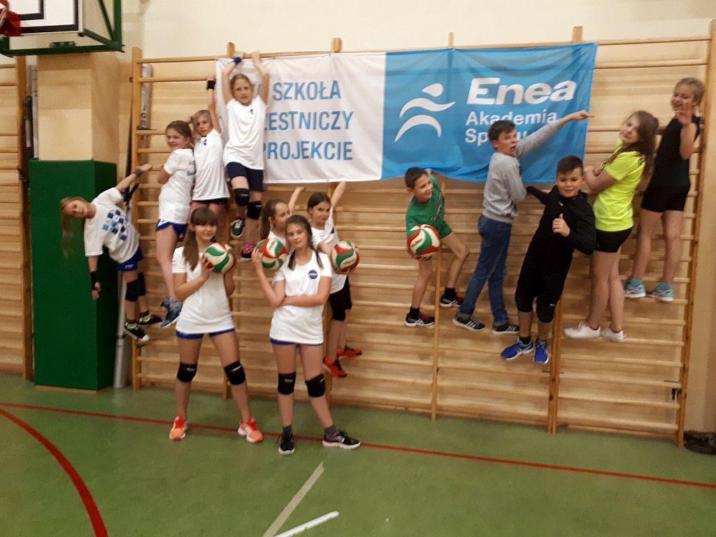 Enea Liga Mini Piłki Siatkowej.