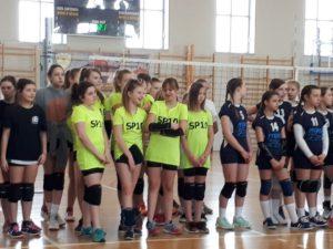 Szkolna drużyna siatkówki