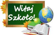 Więcej o: Rozpoczęcie roku szkolnego 2019/2020