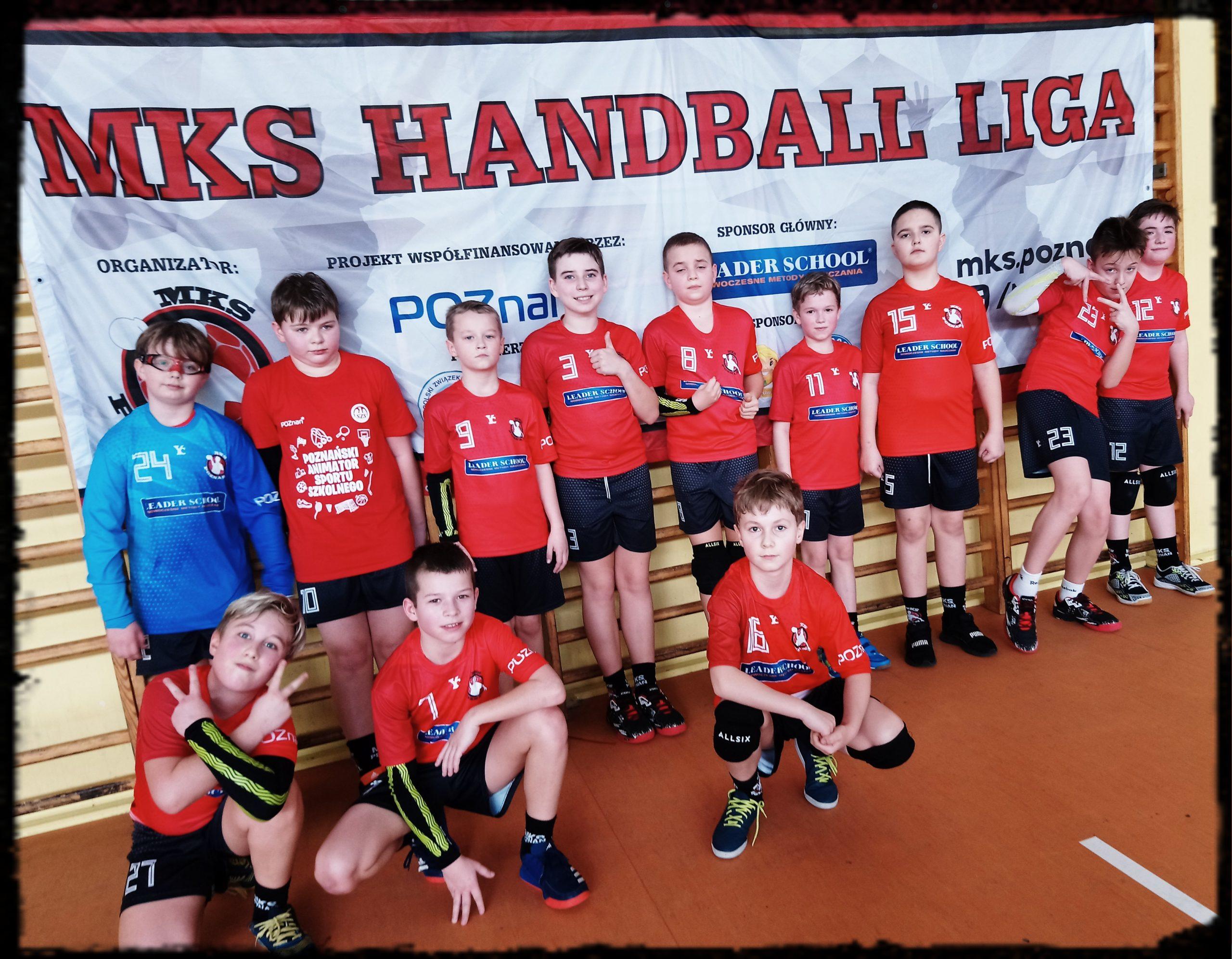 Turniej MKS Handball Ligi klas 5