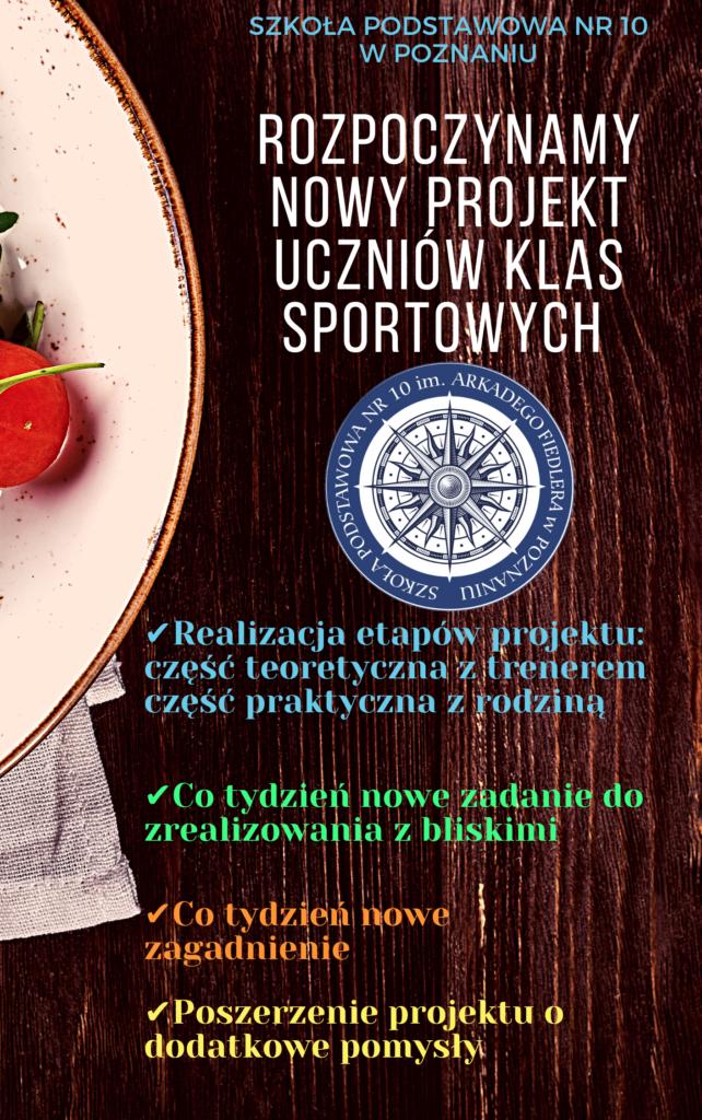 Projekt sportowy