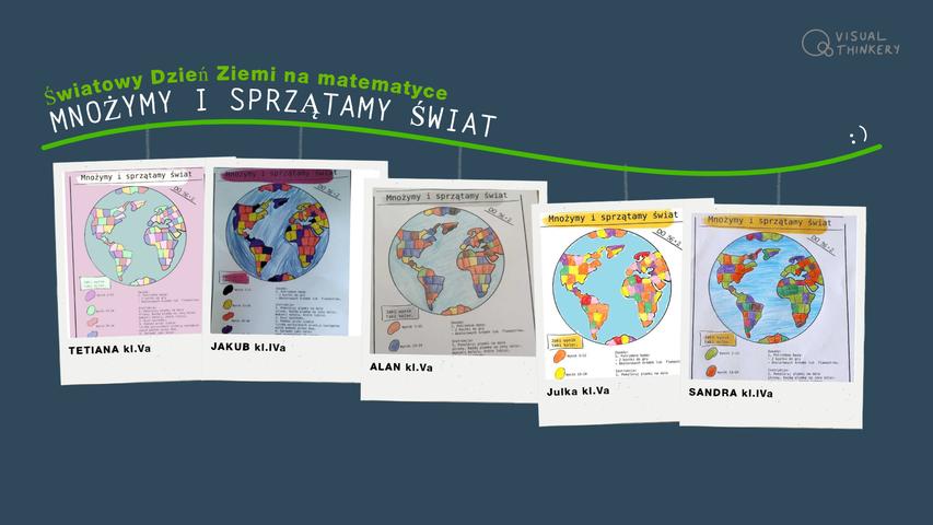 Międzynarodowy Dzień Ziemi - lekcja matematyki.